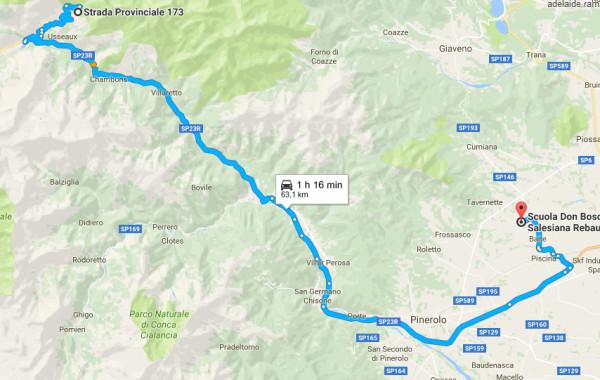 Come arrivare a Pian dell'Alpe